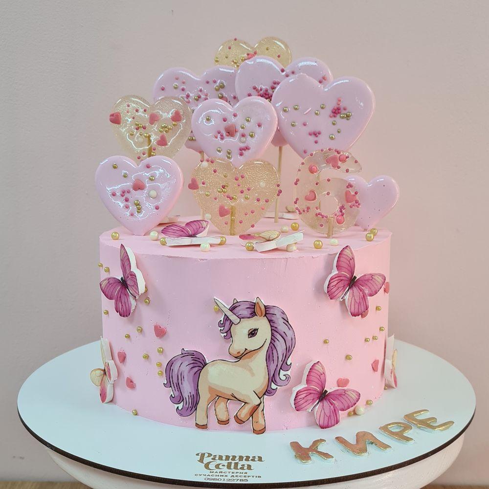Детский кремовый торт 93